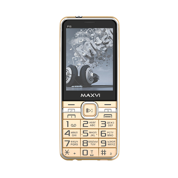 Мобильный телефон MAXVI P15 (gold)