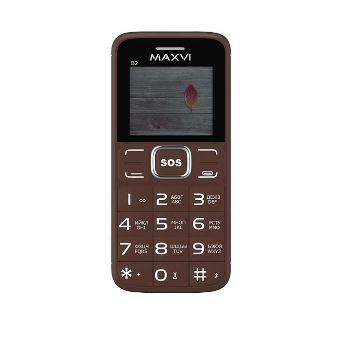 Мобильный телефон MAXVI B2 (coffee)