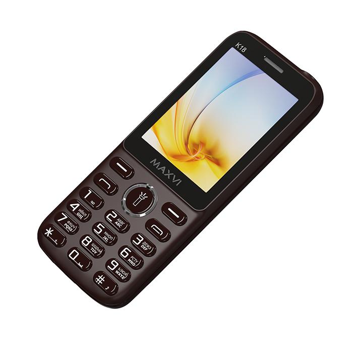 Мобильный телефон MAXVI K18 Brown