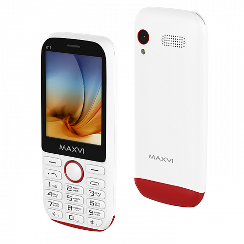 Maxvi K17 white-red
