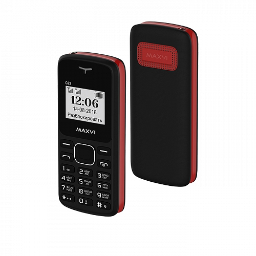 Maxvi C23 Black-Red