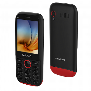 Maxvi K17 black-red