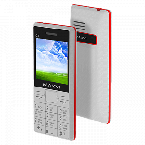 Maxvi C7 white-red