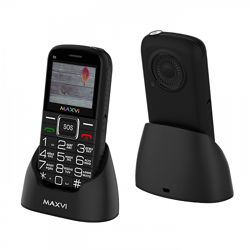 Maxvi B5 black