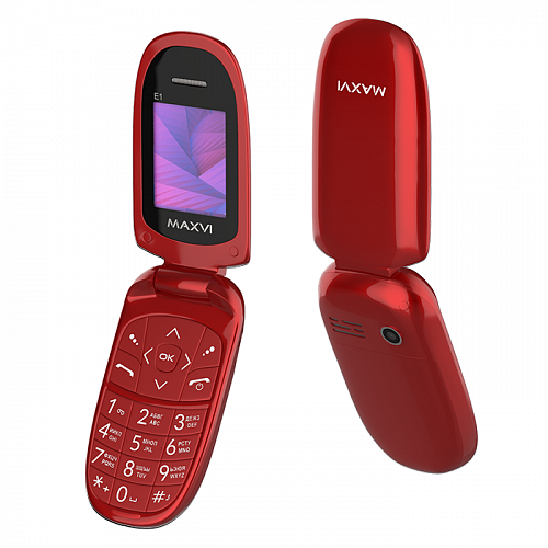 Maxvi E1 red
