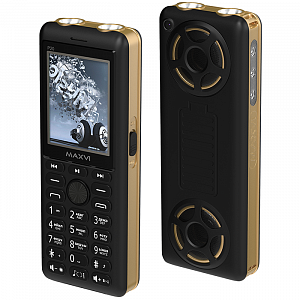 Maxvi P20 black-gold