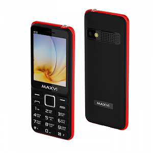 Maxvi K12 black-red