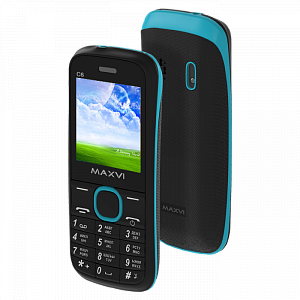 Maxvi C6 black-blue