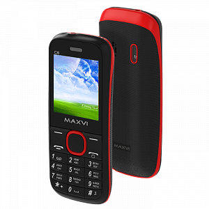 Maxvi C6 black-red