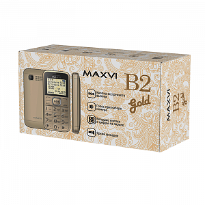 Maxvi B2 gold complect
