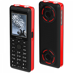 Maxvi P20 black-red
