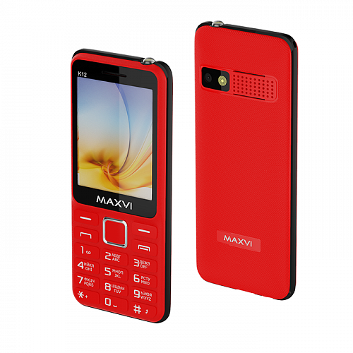 Maxvi K12 red-black