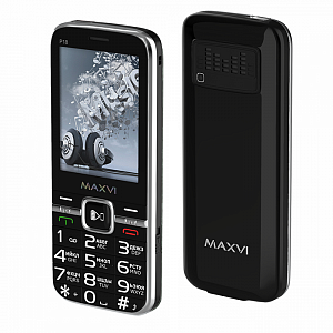 Maxvi P18 black